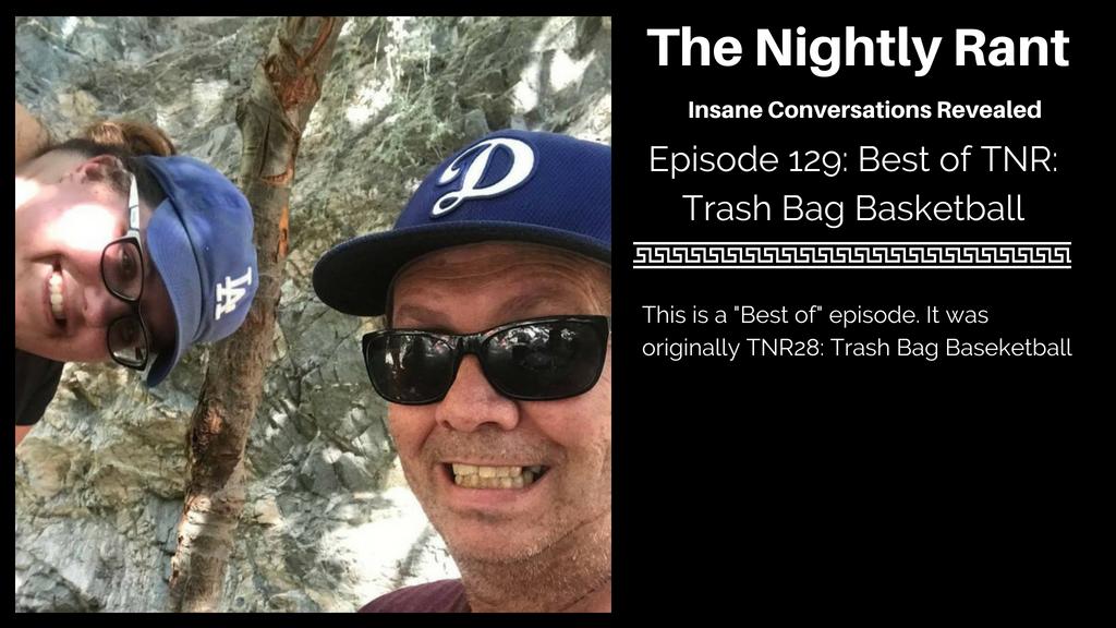 Trash Bag Basketball