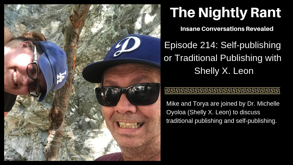 Episode 214: Self-publishing or Traditional Publishing with Shelly X. Leon