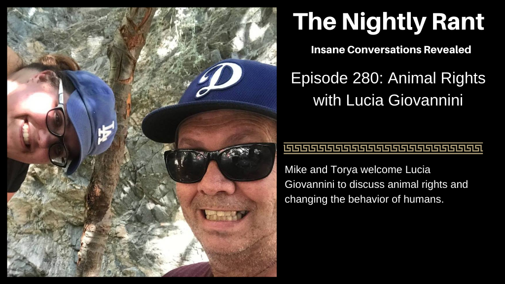 Episode 280: Animal Rights with Lucia Giovannini