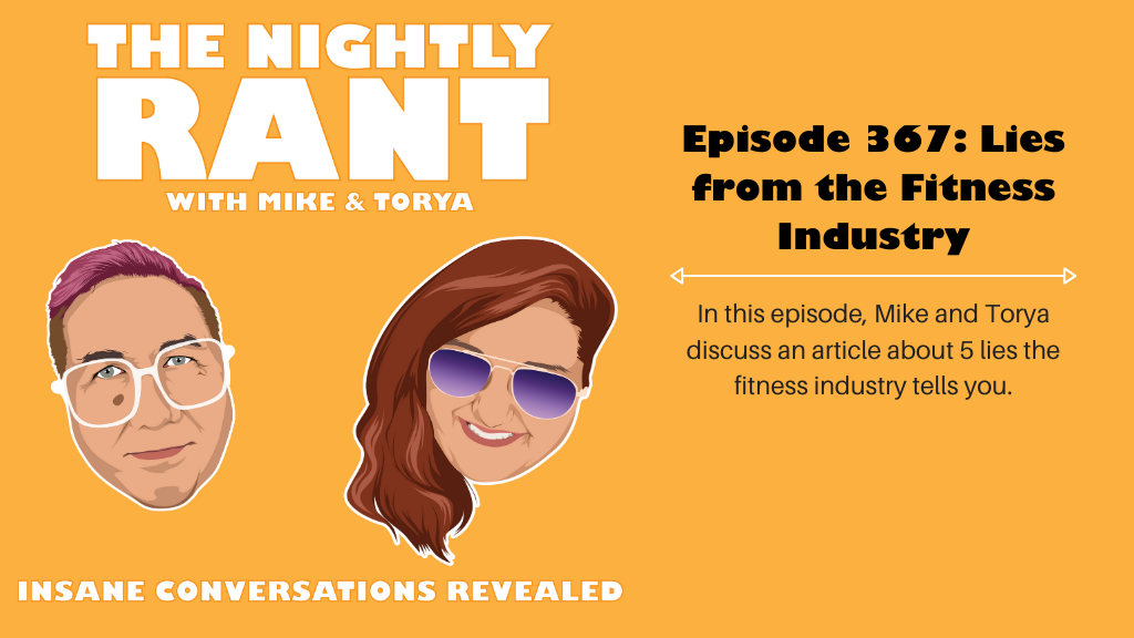 Episode 367: 5 Lies from the Fitness Industry