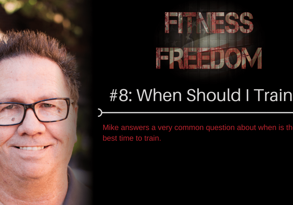 ff08:When Should I Train?