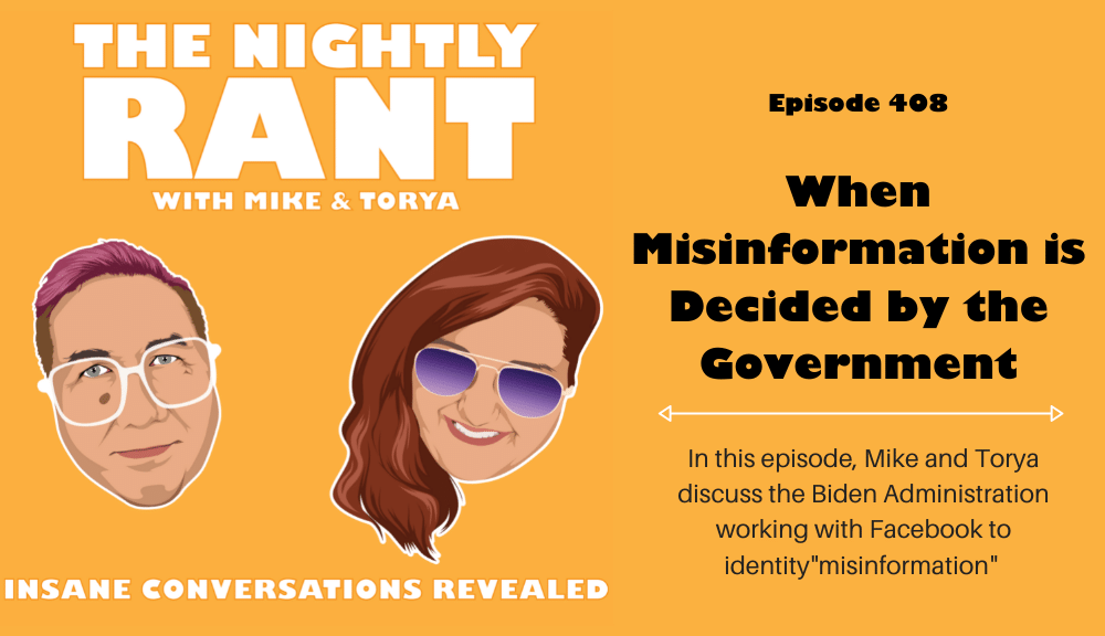 TNR 408- When Misinformation is Decided by the Government